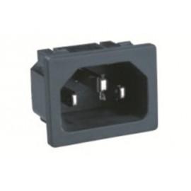 Embase Secteur Mâle IEC14 à clipser