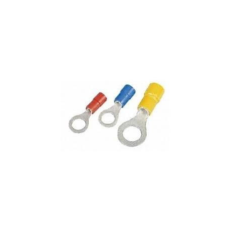 Cosse ronde jaune 6.4mm