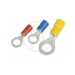 Cosse ronde jaune 10mm