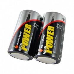 Piles LR14  PACK X 2  SUPER ALCALINES  6-12  SUNDEX