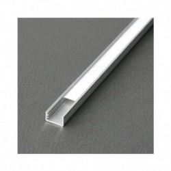 Profile Fin Aluminium Brut 2m pour bandeaux LED