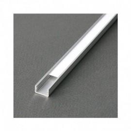 Profile Fin Aluminium Anodisé 1m pour bandeaux LED