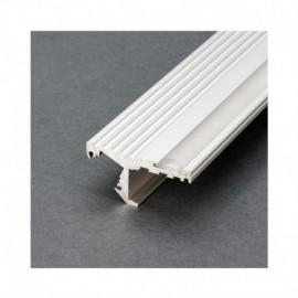 Profile Marche Aluminium Anodisé 1m pour bandeaux LED