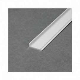Couvercle Profile Marche Aluminium Anodisé 1m pour bandeaux LED