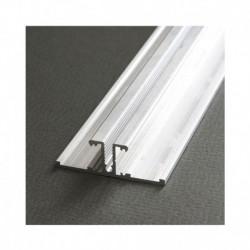 Profile Arrière Aluminium Anodisé 2m pour bandeaux LED