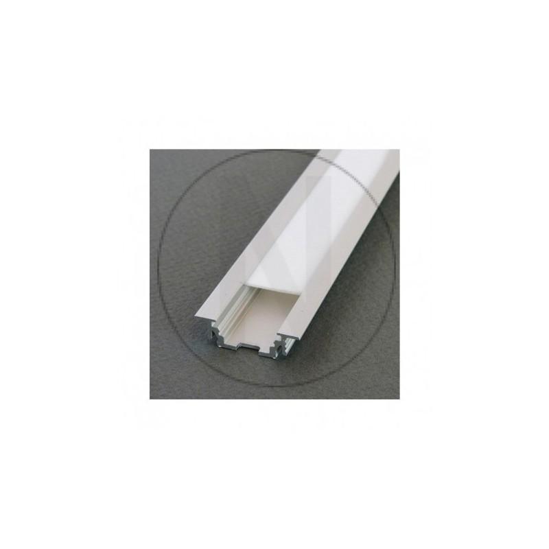 Profile Rainure Aluminium Anodisé 2m pour bandeaux LED