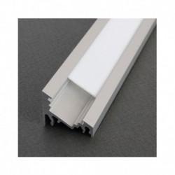 Profile Angle 30/60° Aluminium Anodisé 1m pour bandeaux LED
