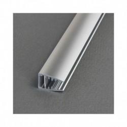 Profile Glass Aluminium Anodisé 1m pour bandeaux LED