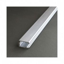 Profile Glass Line Aluminium Anodisé 1m pour bandeaux LED