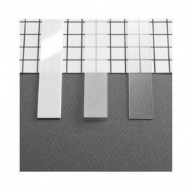 Diffuseur Profile 10.2mm Blanc 1m pour bandeaux LED