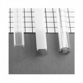 Diffuseur Clip Profile 15.4mm Transparent 1m pour bandeaux LED