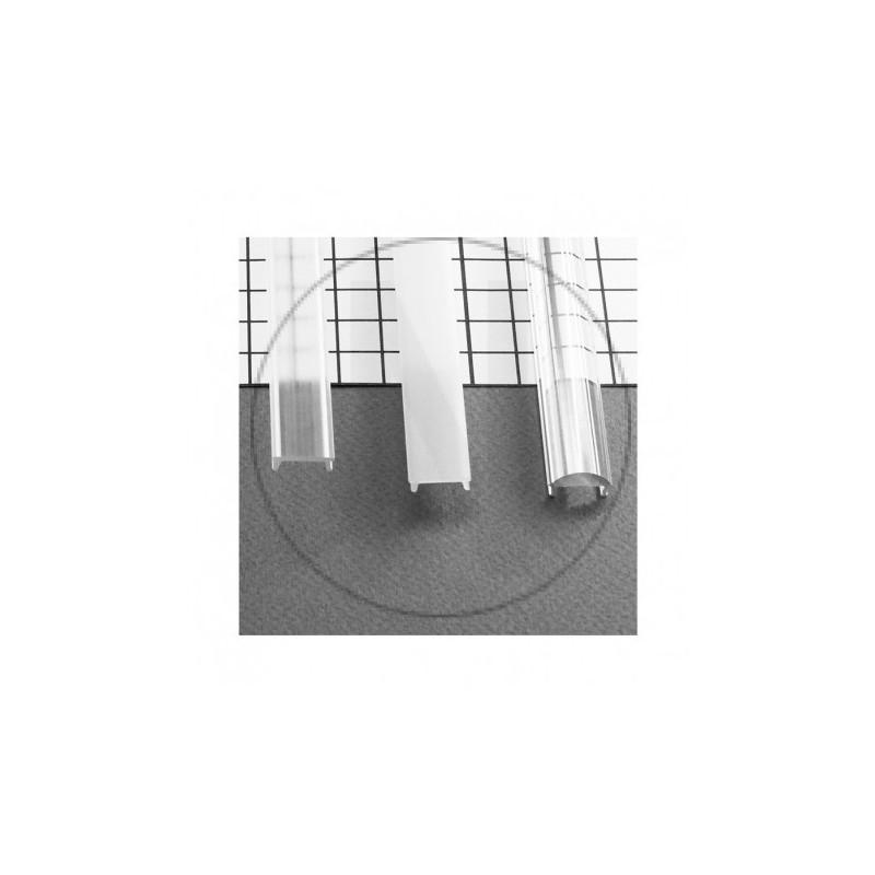 Diffuseur Clip Profile 15.4mm Blanc 2m pour bandeaux LED
