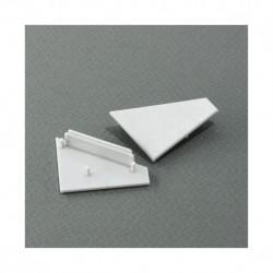 Terminaison Gris pour Profile Angle 30/60° x 2