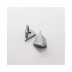 Terminaison Gris pour Profile Angle 45° x 2