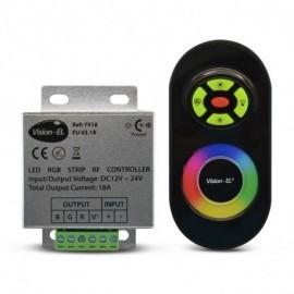 Controleur pour bandeaux LED RGB 12V/24V avec télécommande RT