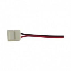 Câble Double Connecteur Rapide Monocolor pour bandeaux LED 8mm