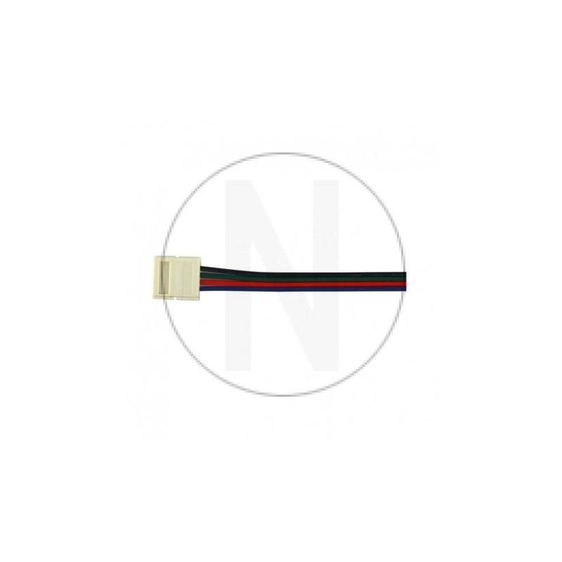 Câble Connecteur Rapide RGB pour bandeaux LED 10mm