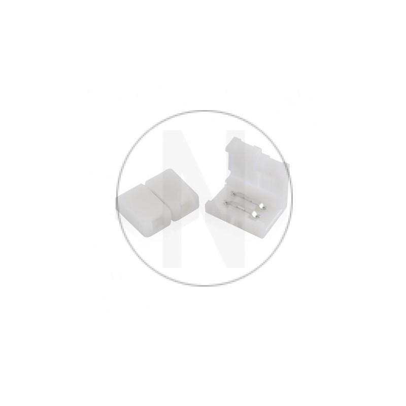 Connecteur Rapide Monocolor pour bandeaux LED 8mm