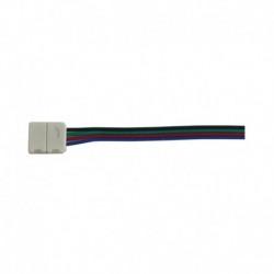Câble Double Connecteur Rapide RGB pour bandeaux LED 10mm