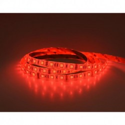 Bandeau LED RGB 5 m 60 LED/m 72W IP65  PU