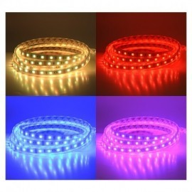 Bandeau LED RGB 5 m 60 LED/m 72W IP67