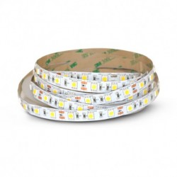 Bandeau LED 4000°K 5 m 60 LED/m 72W IP20
