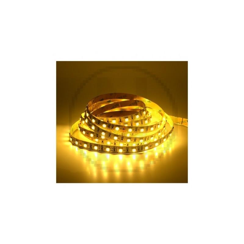 Bandeau LED 3000°K 5 m 60 LED/m 72W IP20