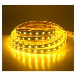 Bandeau LED 3000°K 5m 60 LED/m 72W IP67 Silicone