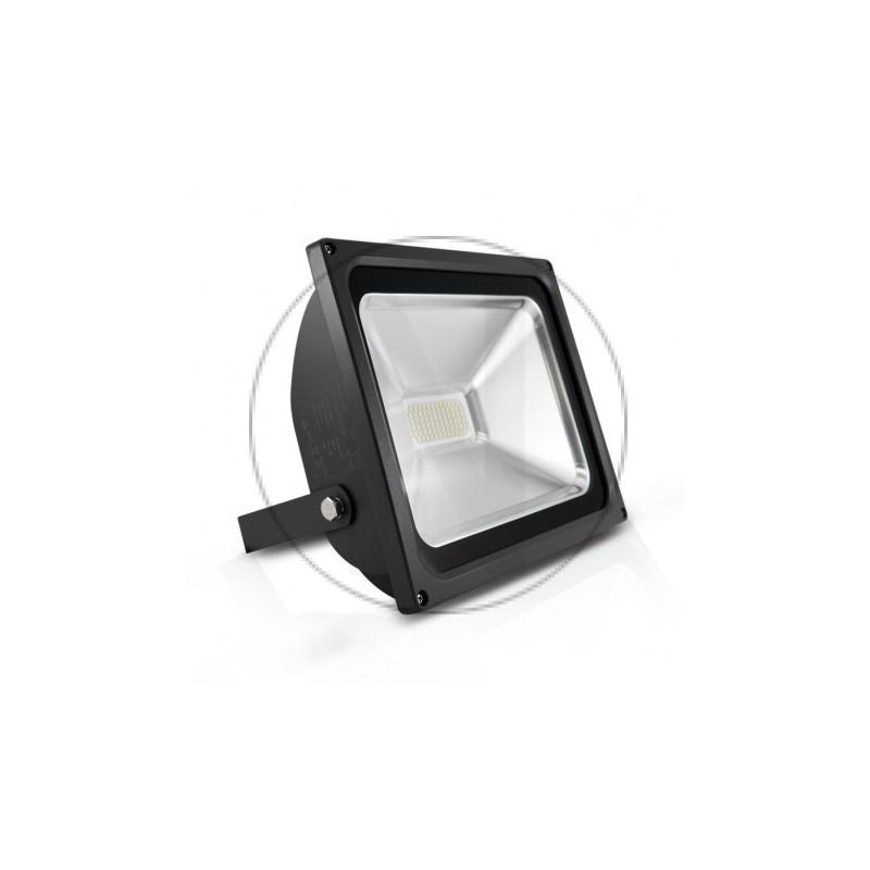 Projecteur Exterieur LED Plat Gris 50W 6000°K