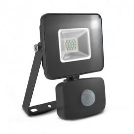 Projecteur Exterieur LED Gris avec Détecteur 10W 6000°K