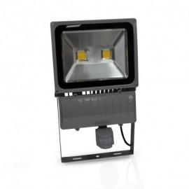 Projecteur Exterieur LED Gris avec Détecteur 100W 3000°K