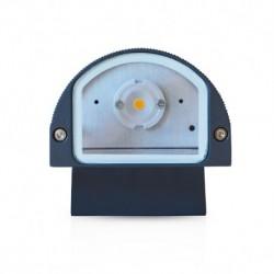Applique Murale LED Rond Gris Anthracite 6W