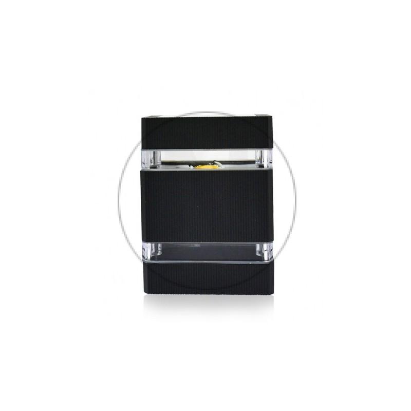 Applique Murale LED Plat Gris Anthracite 6W 3000°K