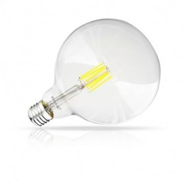 Ampoule LED E27 G125 Filament 8W 2700°K
