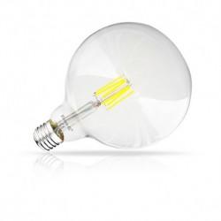 Ampoule LED E27 G125 Filament 8W 4000°K