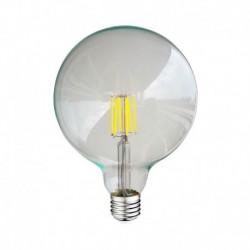 Ampoule LED E27 G125 Filament 8W 6000°K