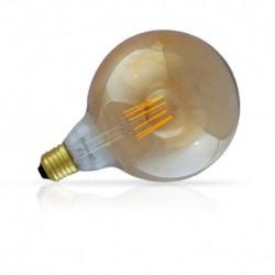 Ampoule LED E27 G125 Filament 8W 880 LM 2700°K