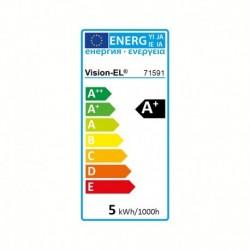 Ampoule LED E27 ST64 Filament 5W 2700°K