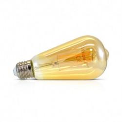 Ampoule LED E27 ST64 Filament 8W 4000°K