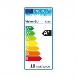 Ampoule LED E27 Bulb 10W Dimmable 6000°K
