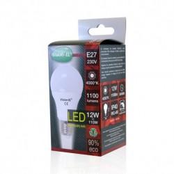 Ampoule LED E27 Bulb 12W 4000°K