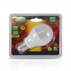 Ampoule LED E27 Bulb 6W 3000°K