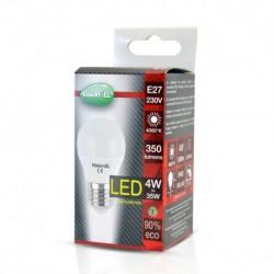 Ampoule LED E27 Bulb G45 4W 4000°K