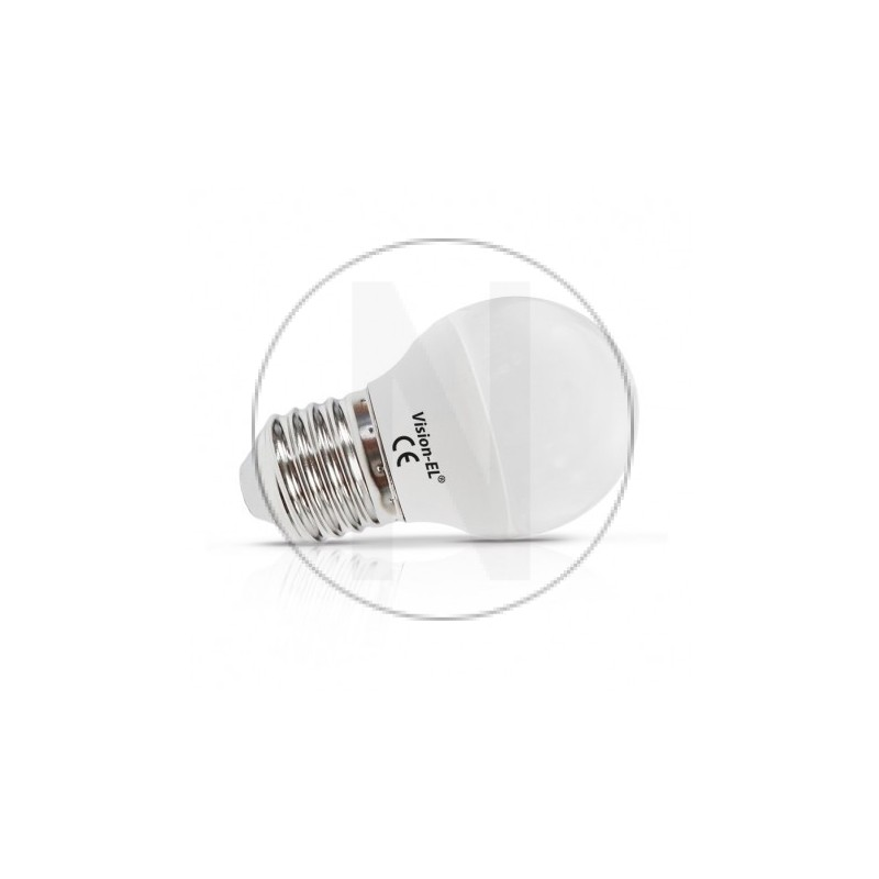 Ampoule LED E27 Bulb G45 6W 6000°K