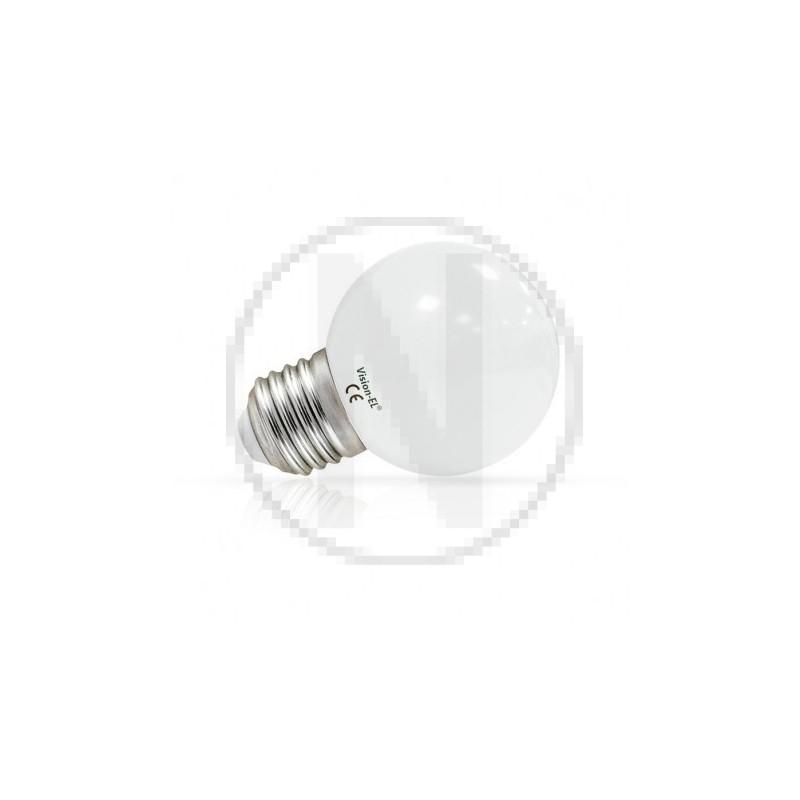 Ampoule LED E27 Bulb G45 1W 3000°K