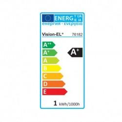 Ampoule LED E27 Couleur Bulb G45 1W Rouge