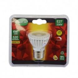 Ampoule LED E27 Spot Dimmable 6W 3000°K