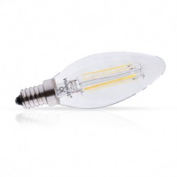 Ampoule Led E14 Filament Flamme  4W 4000°K