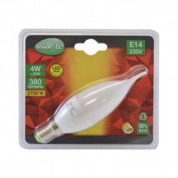 Ampoule LED E14 Coup de vent 4W 2700°K