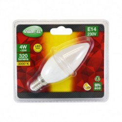 Ampoule LED E14 Flamme 4W 3000°K